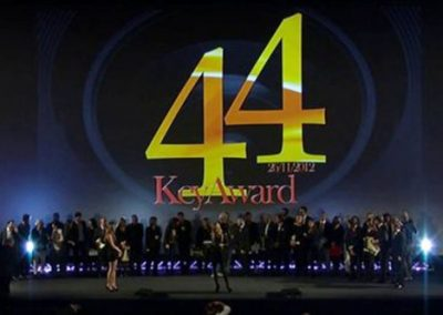 """Performance Key Award"" a Movie&Arts Group – 44°Key Award 2012"