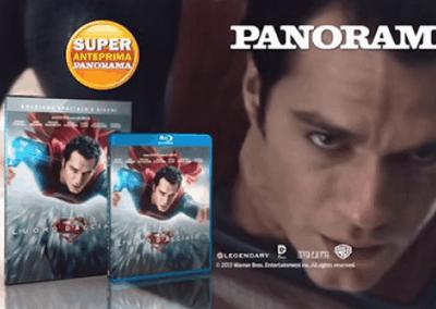 "Mondadori Panorama ""L'uomo d'acciaio"" 10″"