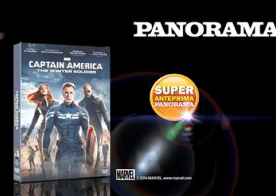 Mondadori Panorama Captain America2 10″