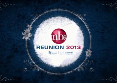 Bocconi Alumni Association-Reunion2013