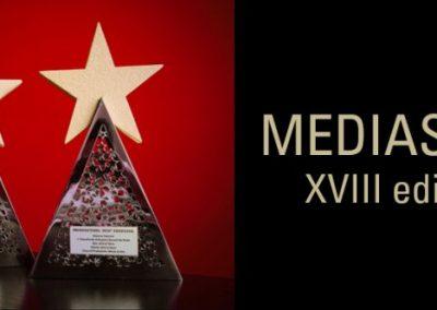 Mediastars – XVIII edizione 2014 Vari riconoscimenti