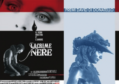 "Premio David di Donatello – shortfilm ""Lacrime Nere"""