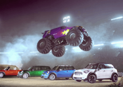 "MINI ""Mini Vs. Monster"" (1'00"")"