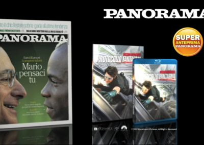 "Mondadori Panorama ""Mission Impossible 4″ 10"""