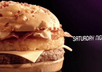 "Mc Donald's ""Saturday Night"" 30″"