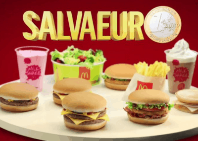 "Mc Donald's ""Value"" 30″"